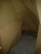 ダンボールのトンネル